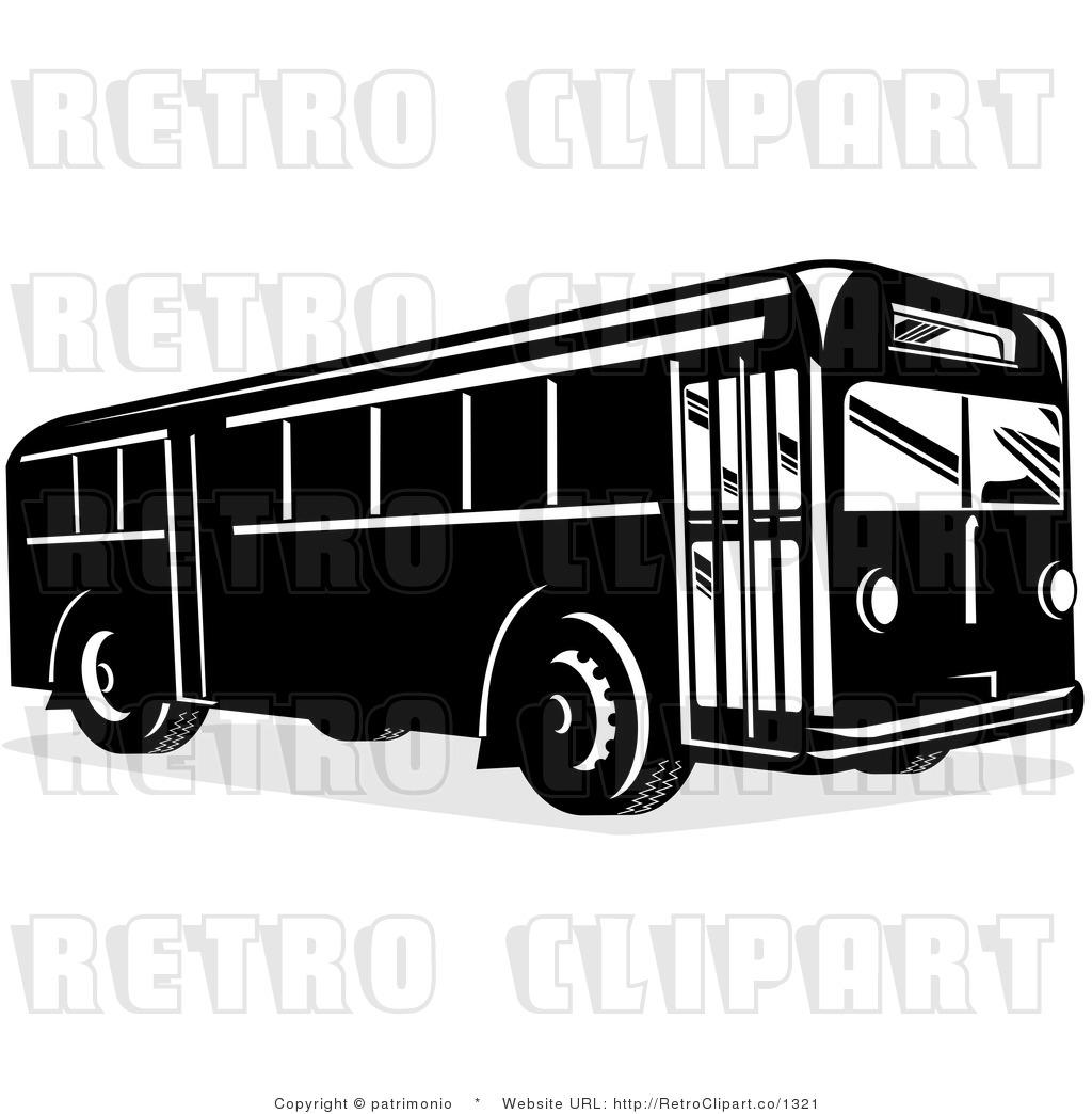 Retro Bus Clip Art – Cliparts