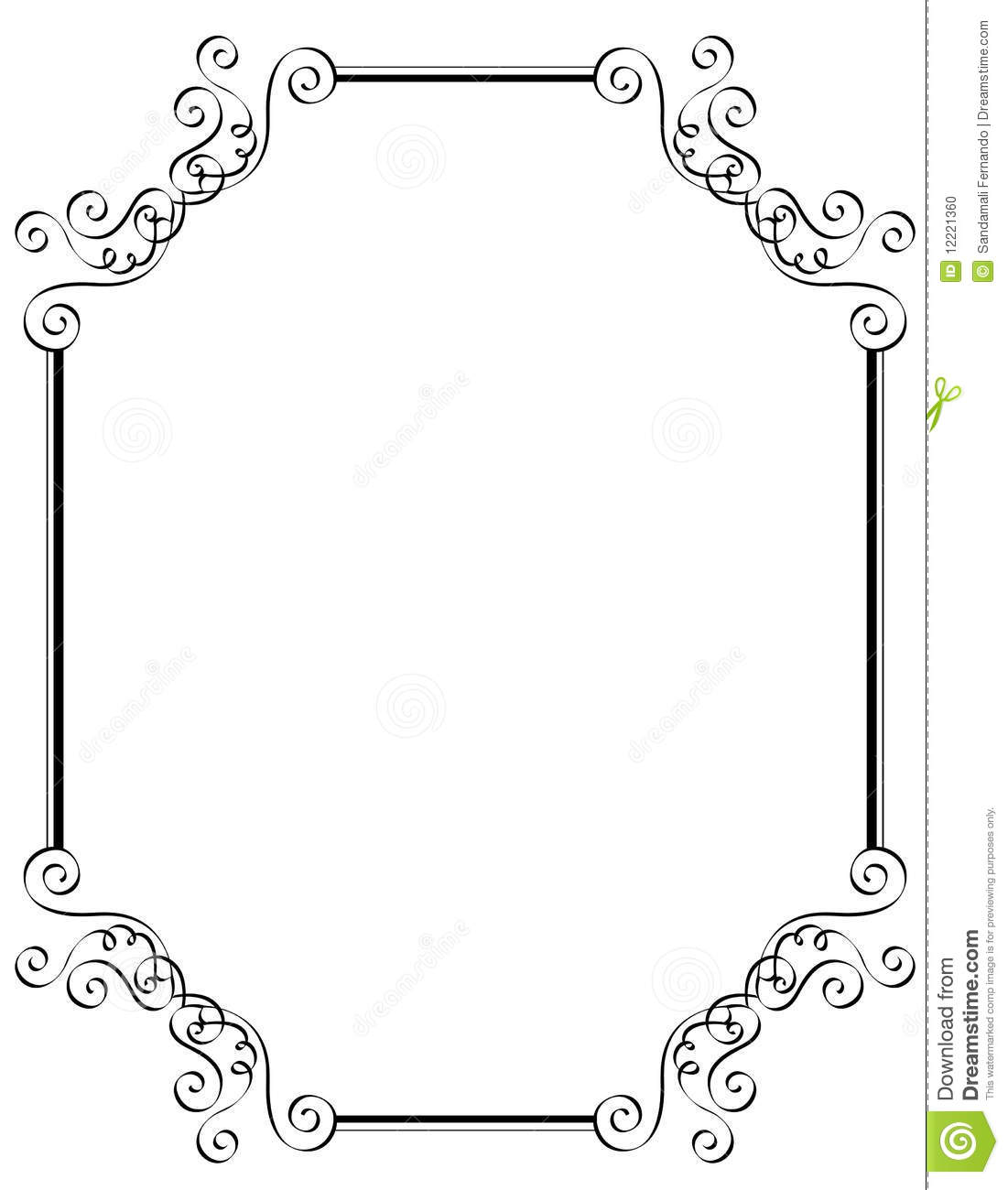 Clip Art Borders And Frames For Wedding Invitations   School Clipart