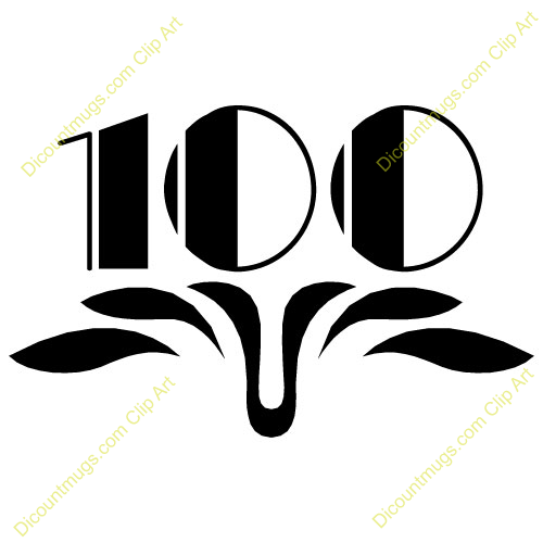 Clipart 11764 Adorned 100   Adorned 100 Mugs T Shirts Picture Mouse