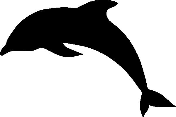 Dolphin Silhouette Clip Art At Clker Com Vector Clip Art Online