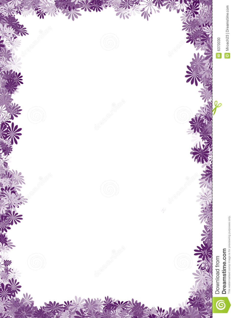 Flower Frame Clipart Cake Ideas And Designs