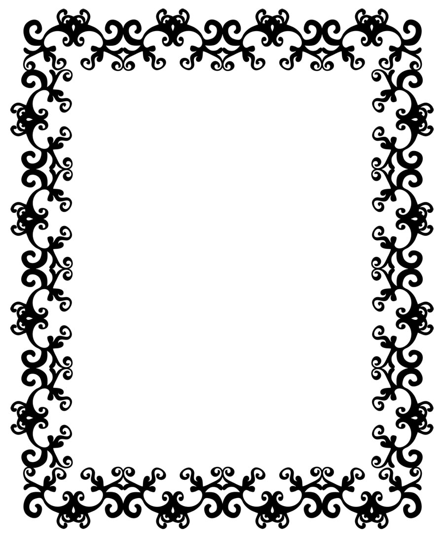 Frame Borders Clip Art 022712  Totally Free Vector Clip Art Images