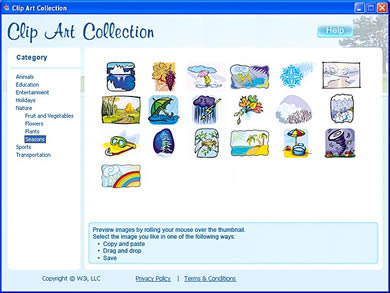 Free Clip Art Collection   Windows Clipart Download