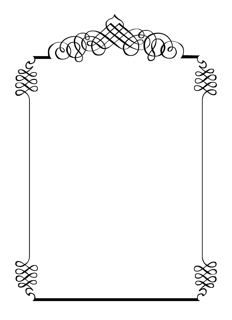 Black And White Corner Borders also Blank Black And White Wedding Invitations Templates moreover Two Wedding Rings Vintage Ornaments Calligraphic Design Elements And Page Decorations For Wedding Invitation Black And White Version Vector 8717263 besides Wedding Invitation Borders Cliparts as well Swirl Border Clip Art. on scroll wedding invitation