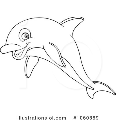 Go Back   Gallery For   Dolphin Clipart Black And White