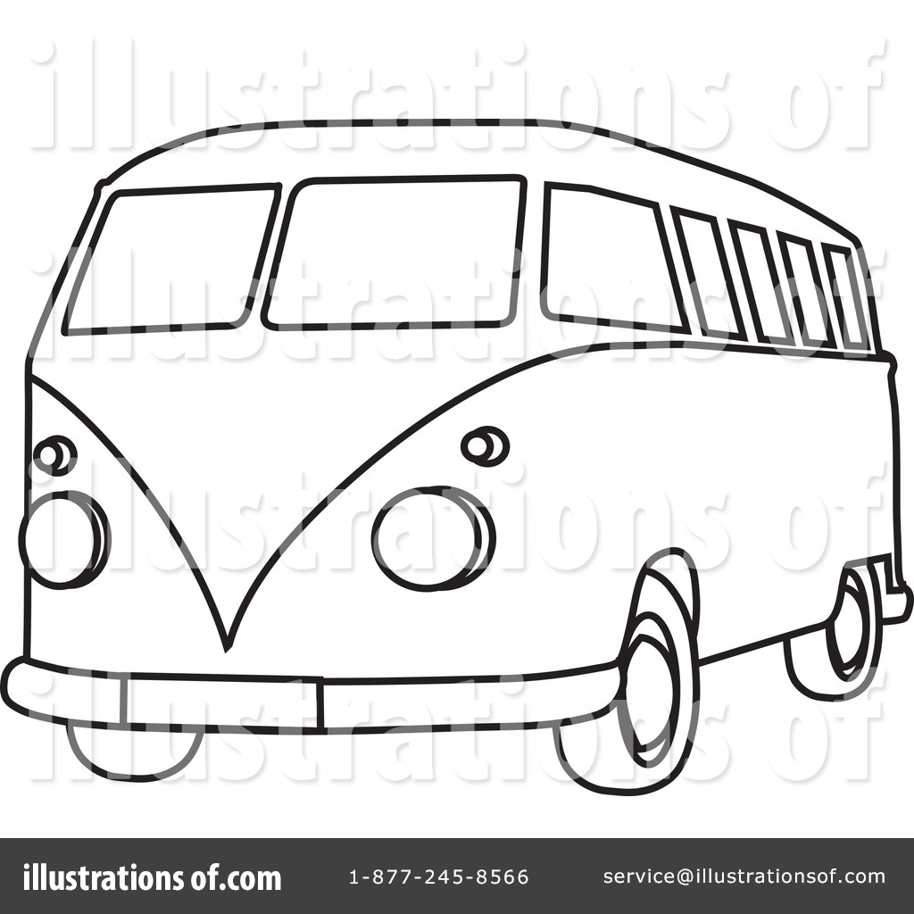 van black and white clipart - photo #27