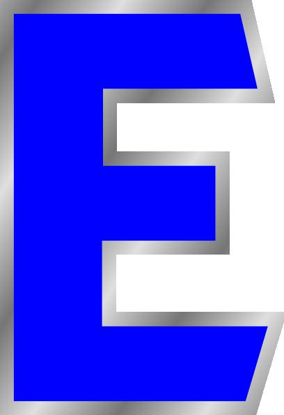 One Line Letter Art : E clipart suggest