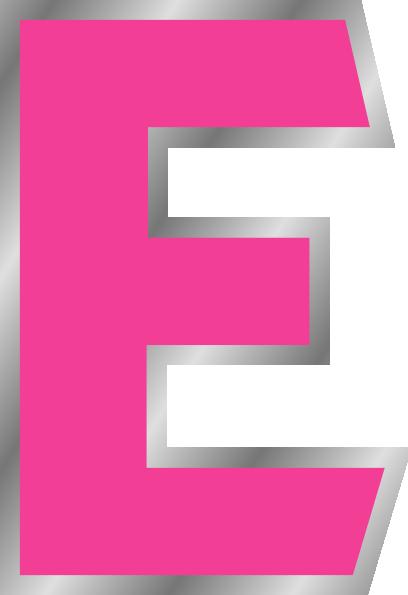 One Line Letter Art : Letter e clipart suggest