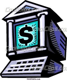 Clip Art Online Banking Clipart - Clipart Kid