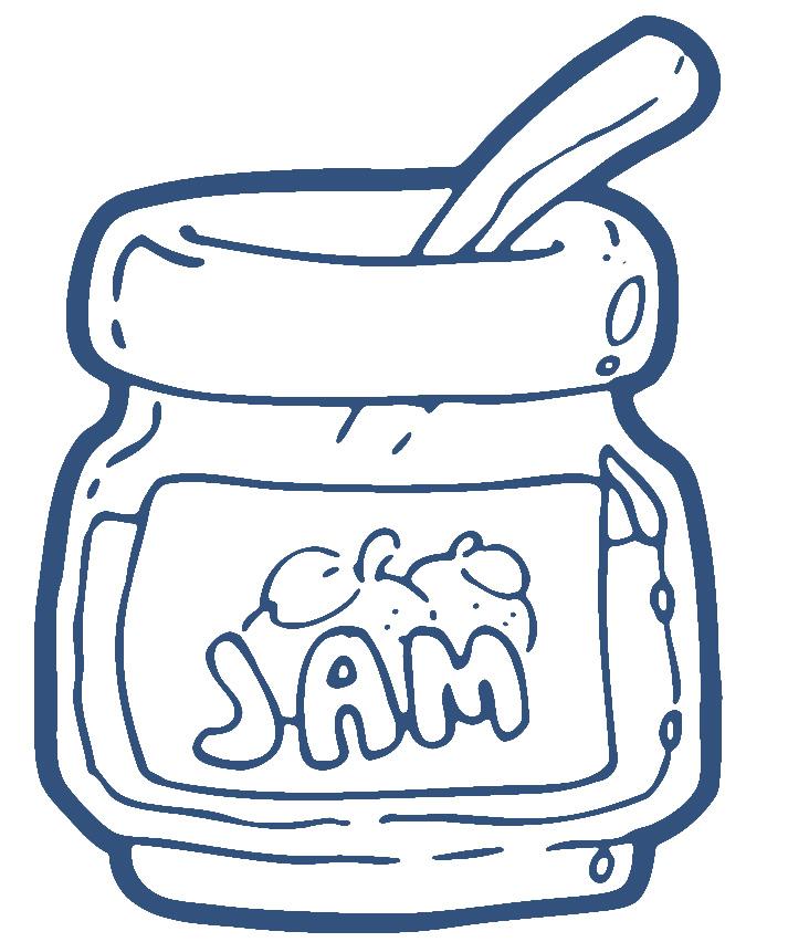 Jam Clipart - Clipart Kid