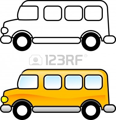 School Bus Clipart Black And White Black And White Schools