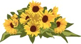 Rustic Sunflower Clipart - Clipart Kid