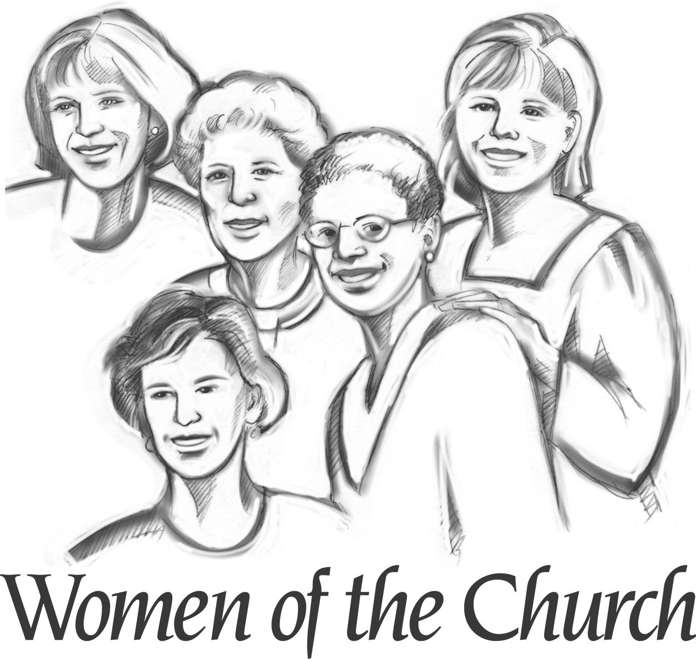 Together And The Words Women Of The Church Across The Bottom