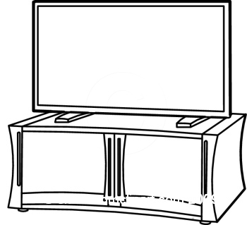 Tv Clipart Black And White   Clipart Panda   Free Clipart Images