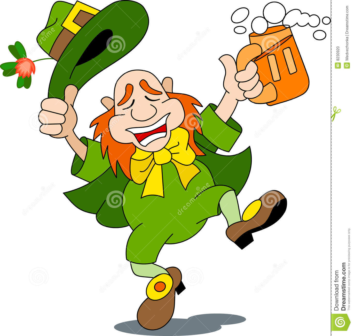 Animated Dancing Leprechaun Clipart   Fun Time Website