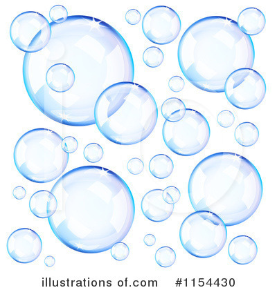 Bubbles Clipart  1154430   Illustration By Oligo