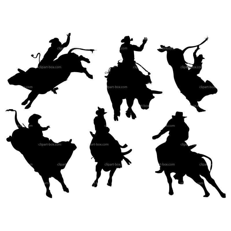 Bull Riding Clipart - Clipart Suggest