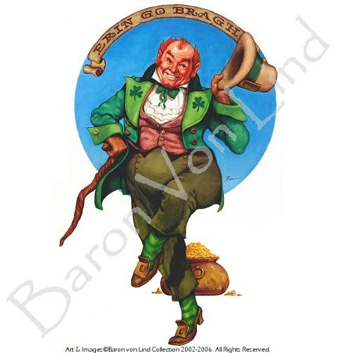 Dancing Leprechaun Free Saint Patricks Day Clipart