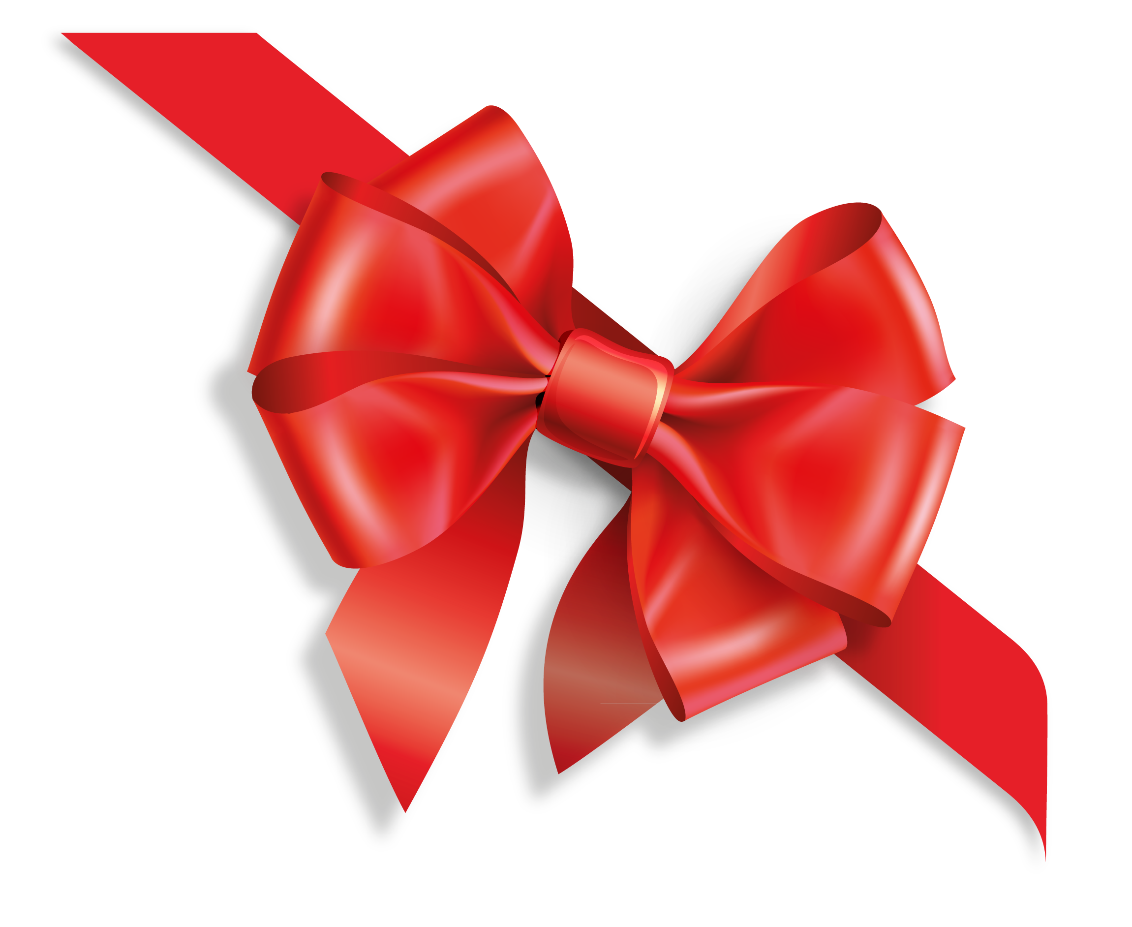 Download Png Image  Gift Red Ribbon Png Image