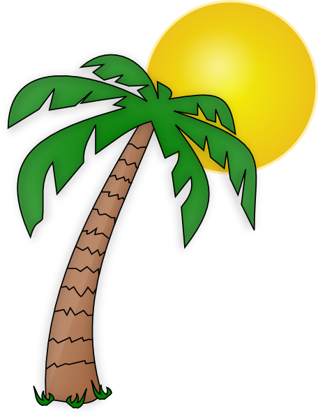 Cartoon Palm Tree Clipart - Clipart Kid