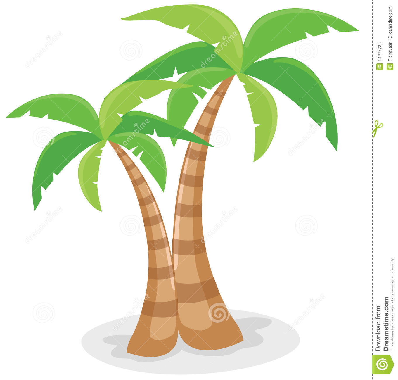 Palm Tree Coconut Clipart   Clipart Panda   Free Clipart Images