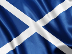 Scottish Flags Clipart