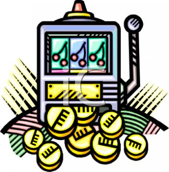 Poker Slots Clip Art