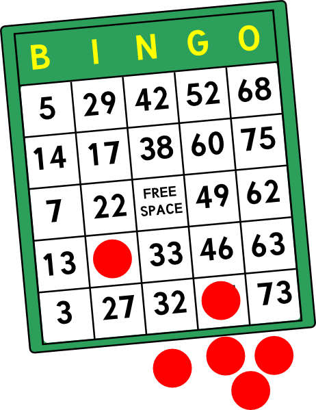 Bingo Cards Clip Art At Clker Com   Vector Clip Art Online Royalty