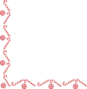Candy Cane Border Clipart - Clipart Kid