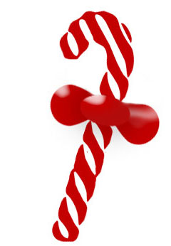 Christmas Clipart Candy Canes And Bells  Modern