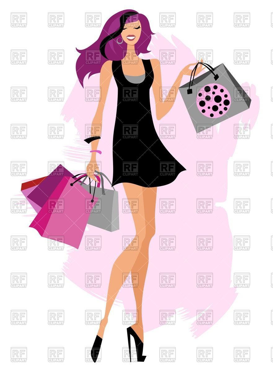 free clipart clothes shopping - photo #43