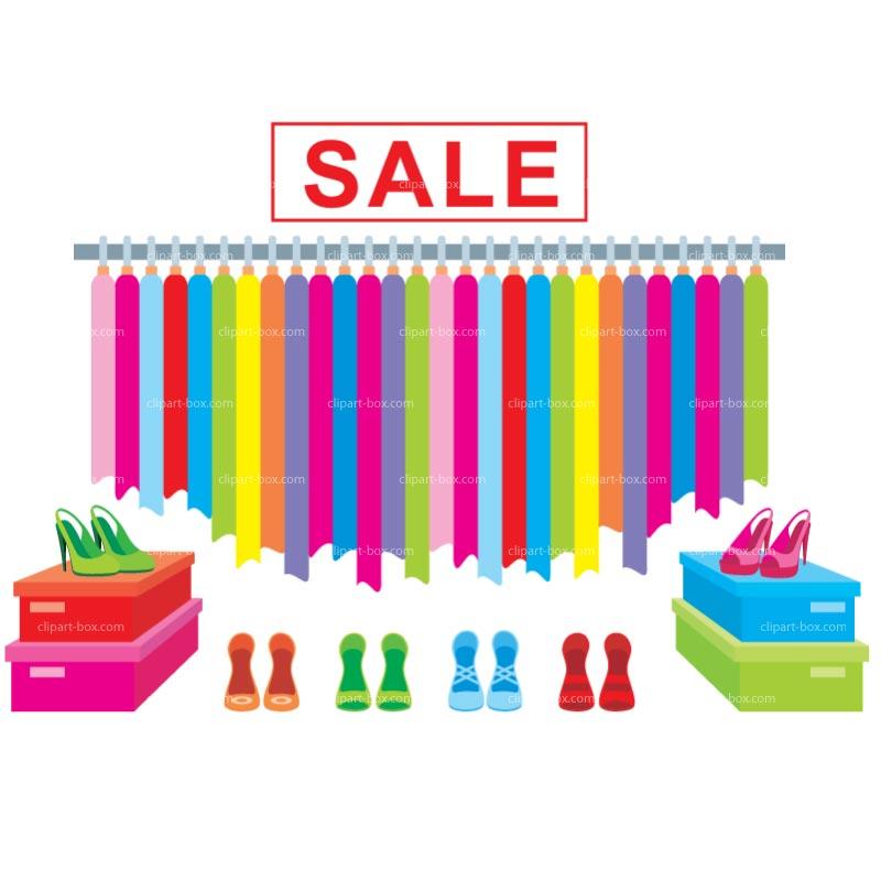 Clothing Sale Clip Art