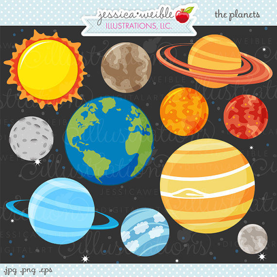 Clipart   Commercial Use Ok   Space Clipart Outer Space Space