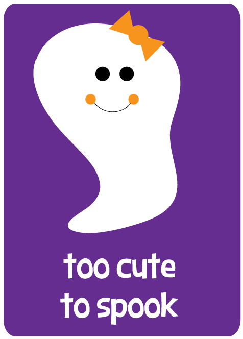Cute Ghost Clipart - Clipart Kid