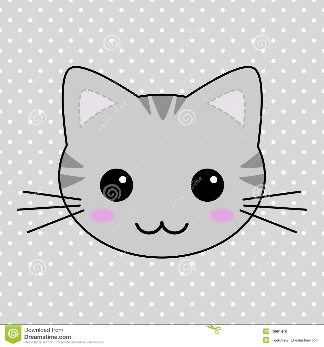 kawaii cat face Gallery