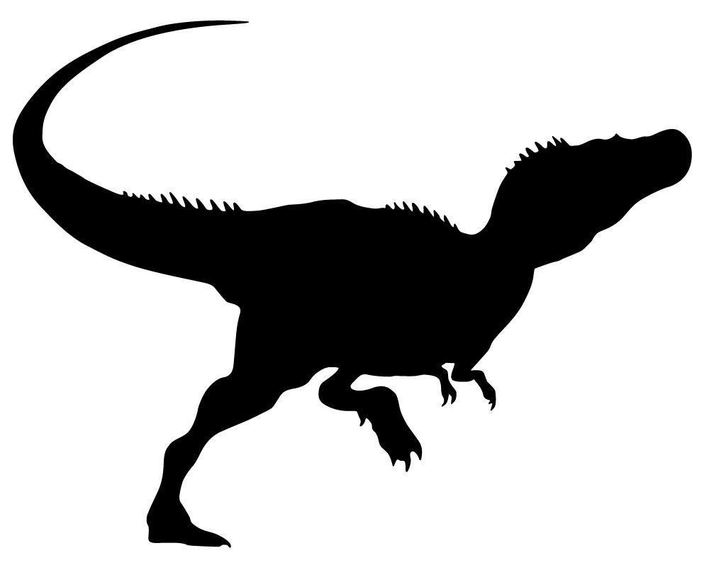 Rex Skull Silhouette Clip Art t-rex silhouette clipart - clipart kid