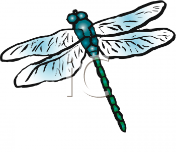 Whimsical Dragonfly Clipart - Clipart Kid