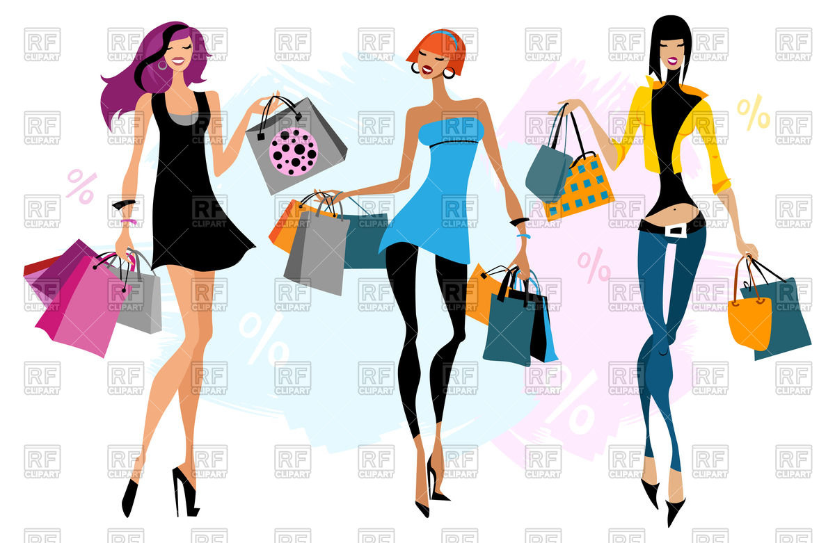 free clipart clothes shopping - photo #47