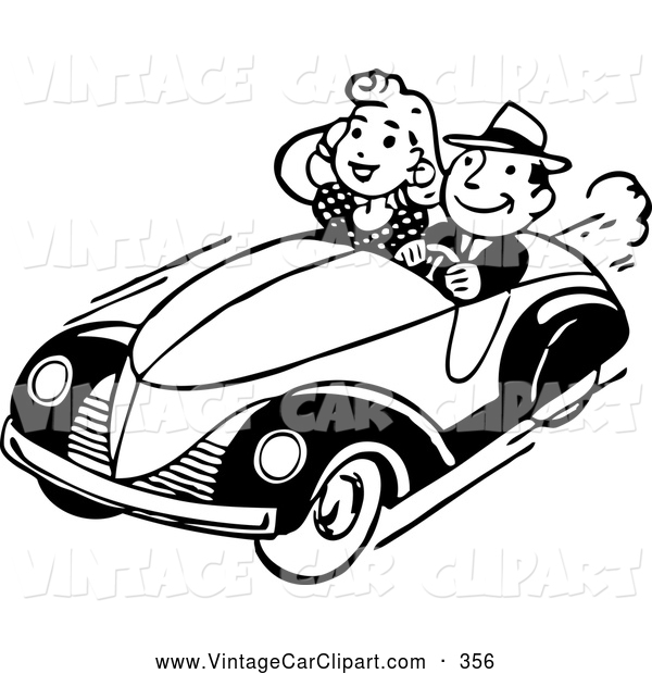 retro car clipart