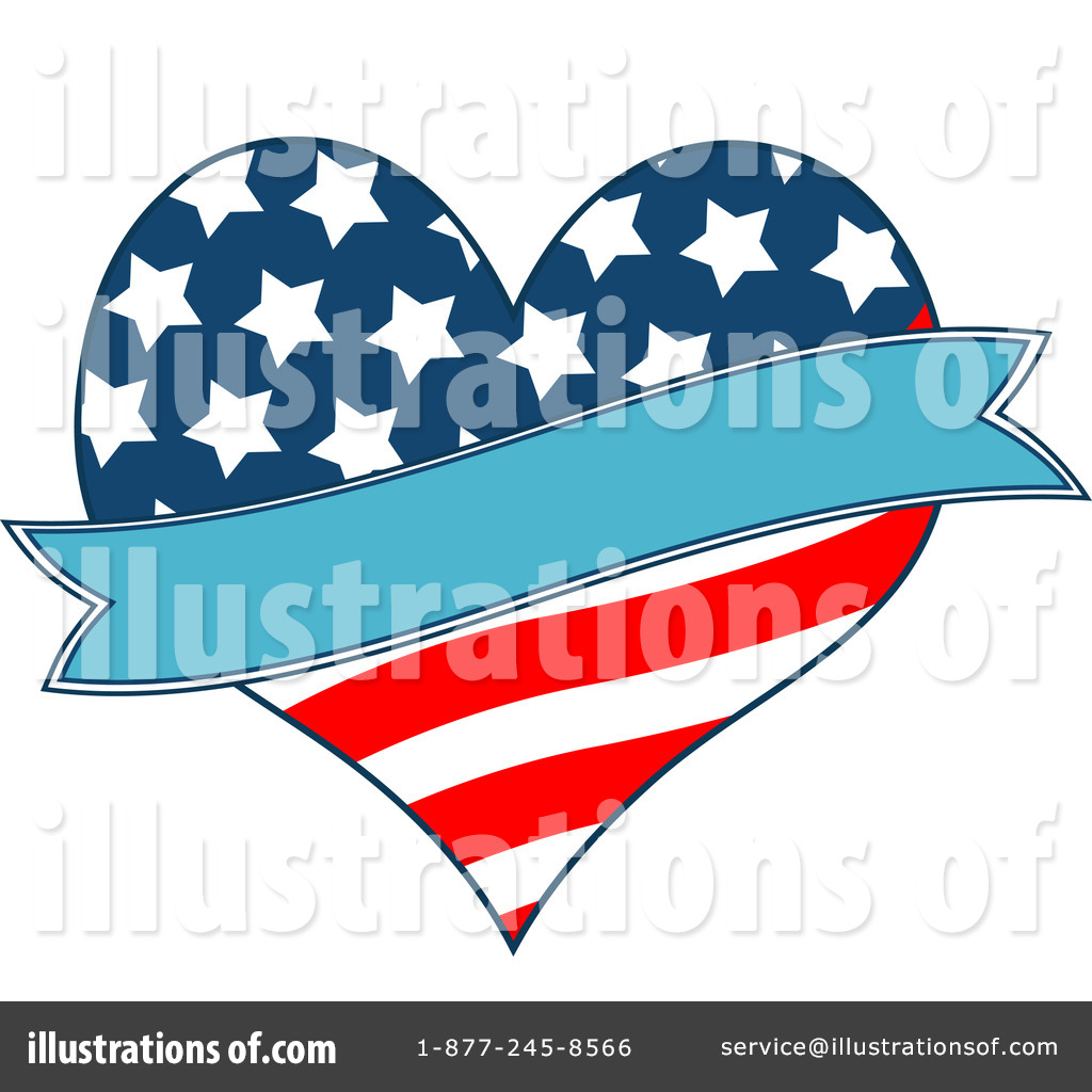 Free Rf American Flag Clipart Illustration 1094183 By Royalty Free