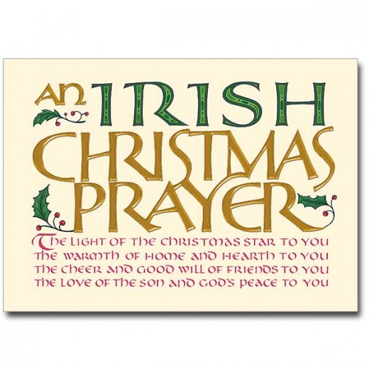 Irish Christmas Blessings Greetings And Poems