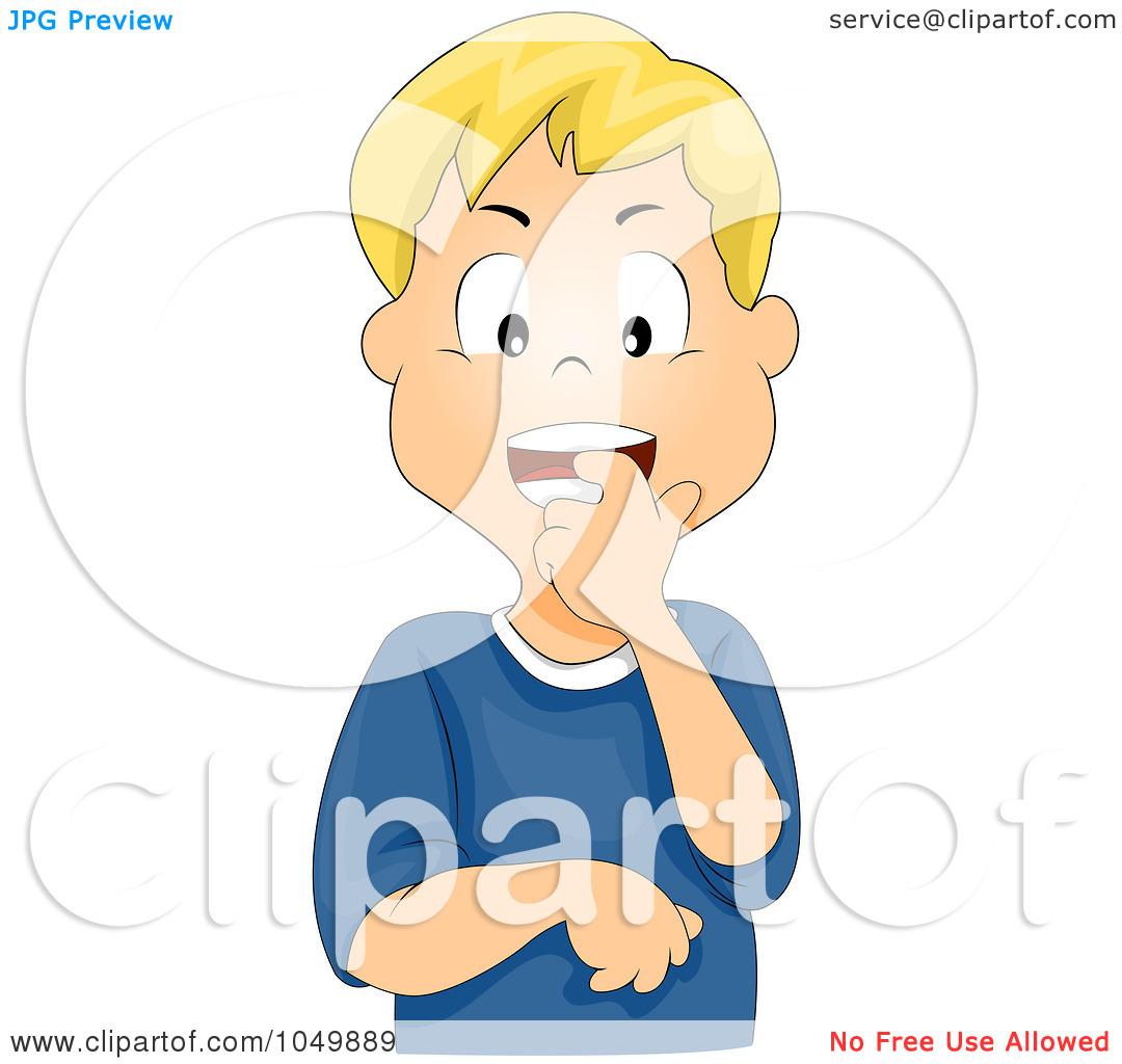 Nervous Boy Clipart - Clipart Kid