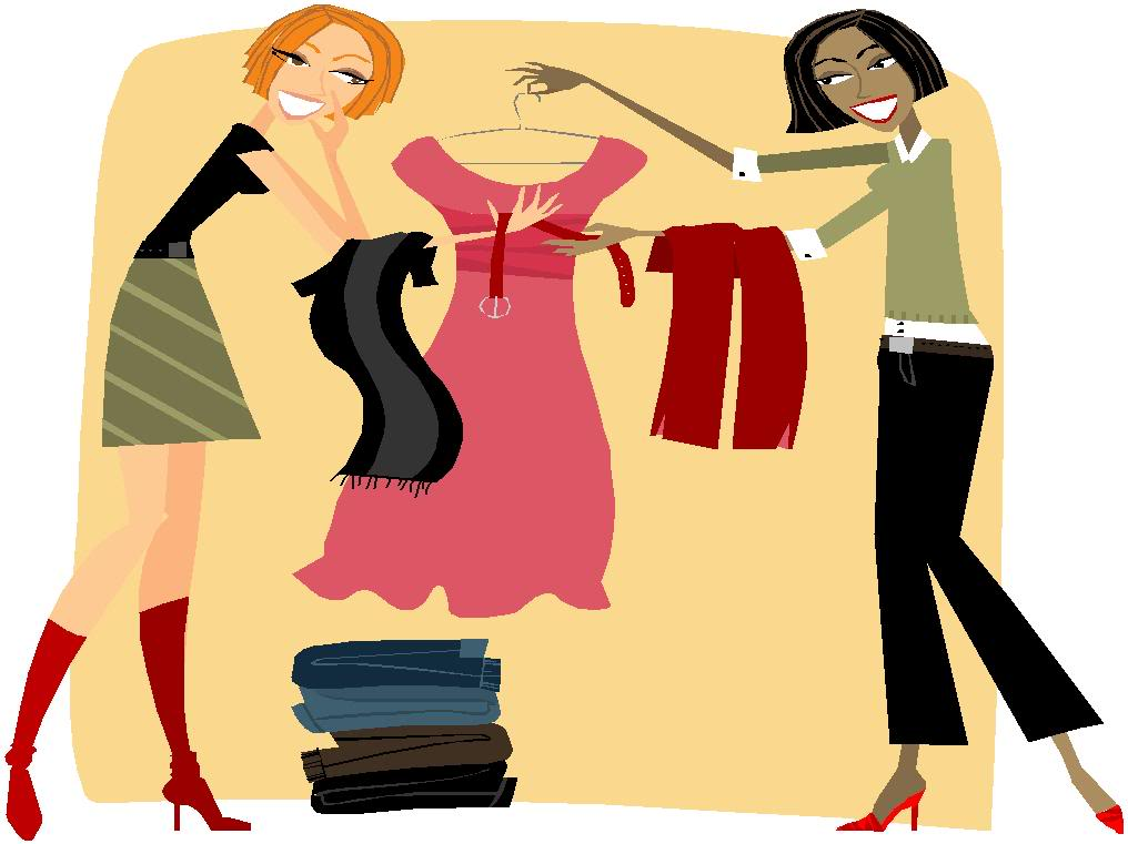 free clipart clothes shopping - photo #6