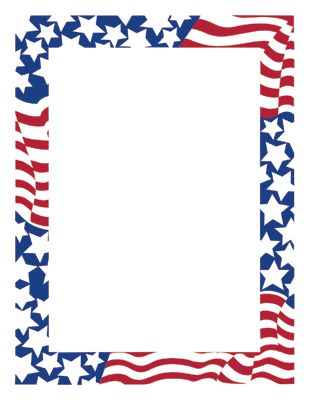 Stars And Stripes Flag Design Specialty Paper   Clipart Best   Clipart