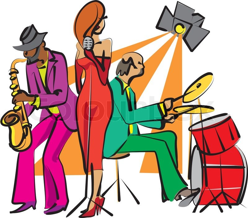 Jazz Band Clipart - Clipart Suggest