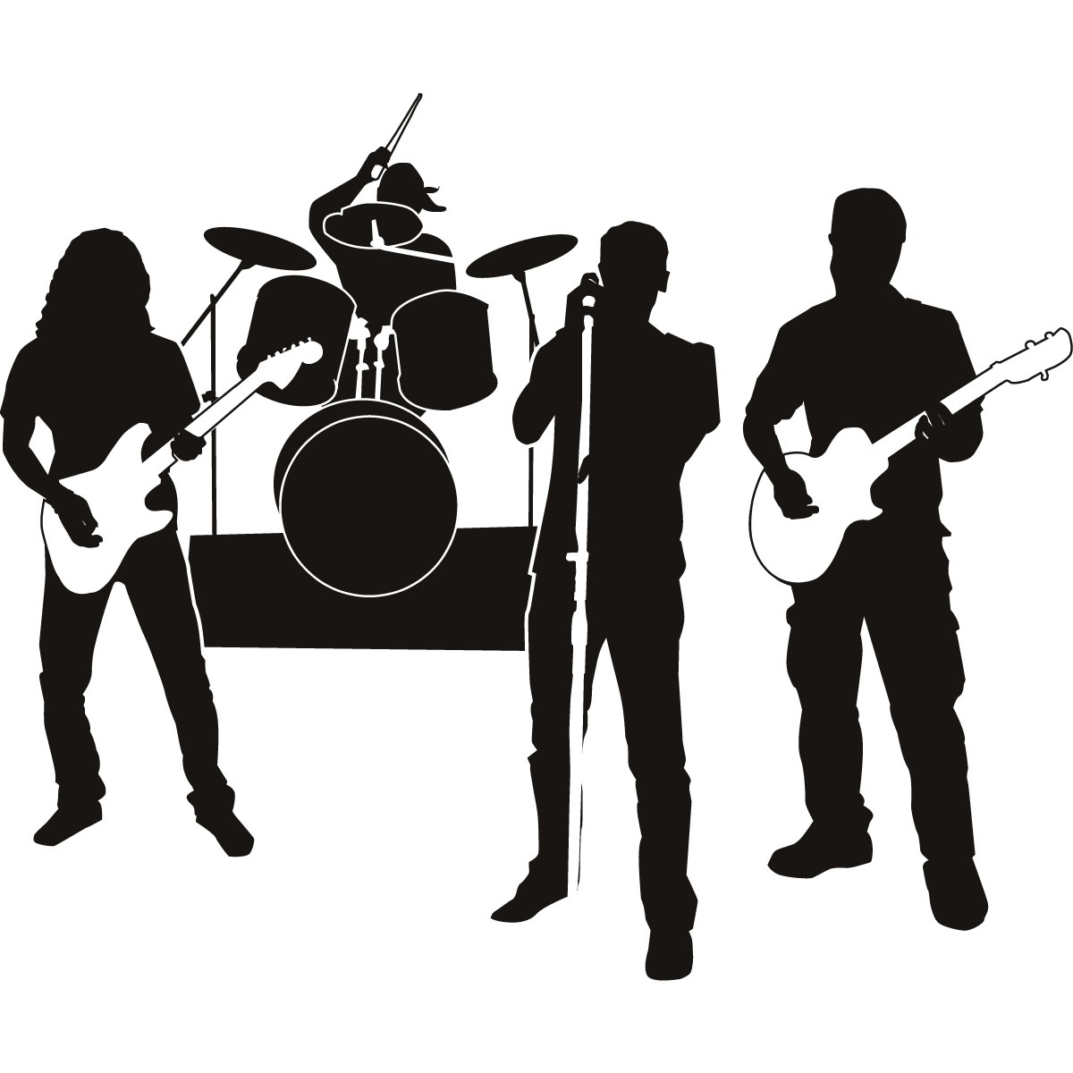 Live Band Clipart - Clipart Kid