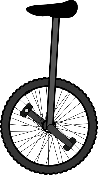 Unicycle Clip Art At Clker Com   Vector Clip Art Online Royalty Free