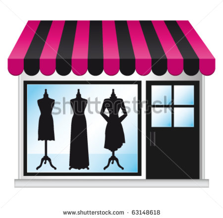 Vector Images Illustrations And Cliparts  Beautiful Fashion Boutique