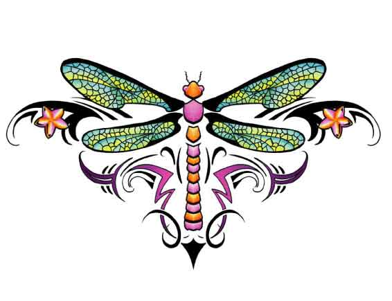 Whimsical dragonfly drawings - photo#3