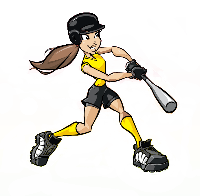 Image result for softball cartoon